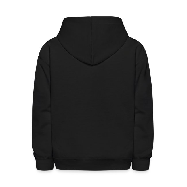 Kids Black MattyBRaps Repeated Hoodie