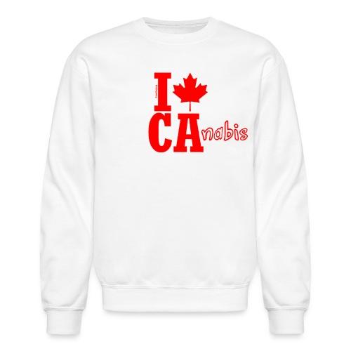 I Leaf Ca-nabis - Crewneck Sweatshirt