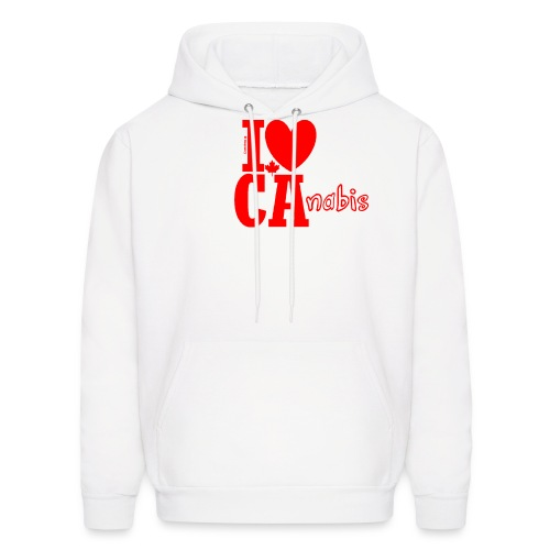 I ❤ Ca-nabis - Men's Hoodie