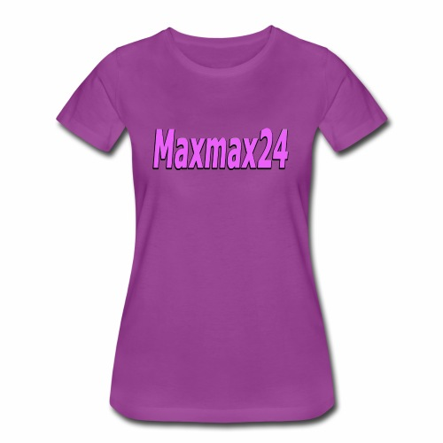 Maxmax24 does Cancer Research - Women's Premium T-Shirt