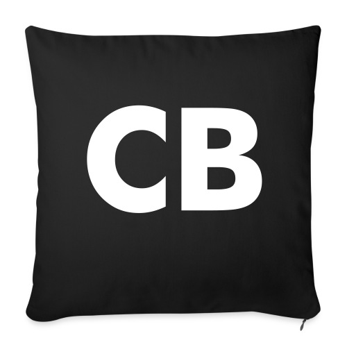 CasterBerry Initials Pillow - Throw Pillow Cover