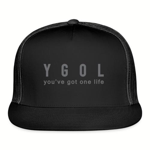 YGOL-black-hat - Trucker Cap