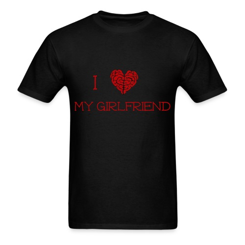Men's I Love My Girlfriend Tee - Men's T-Shirt