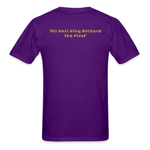 Mens T-Shirt - 'All Hail King Richard' Special Edition - Men's T-Shirt