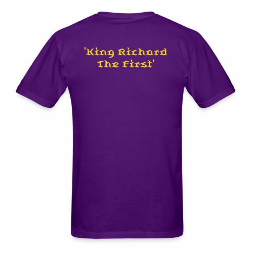 King Richard The First Special Edition T-Shirt - Men's T-Shirt