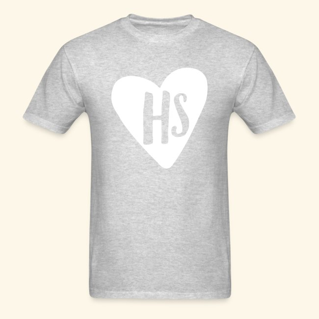 HS Grey Adult Heart