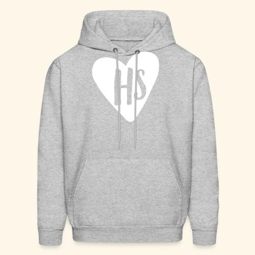 HS Adult Grey Hoodie - Men's Hoodie