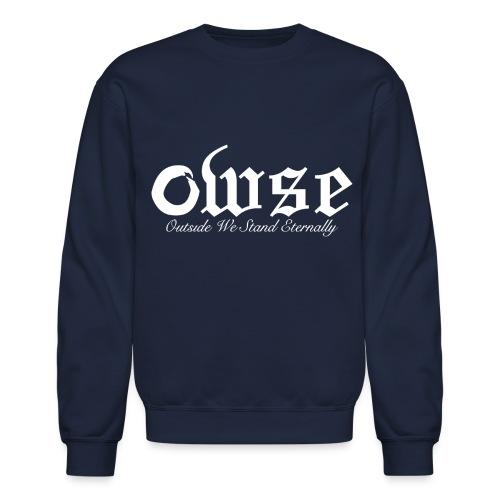 OWSE Logo 2 | Outside We Stand Eternally  - Crewneck Sweatshirt
