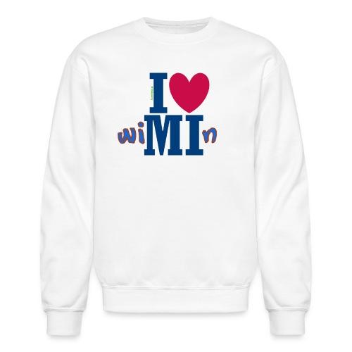 I ❤ Michigan Wimin - Crewneck Sweatshirt