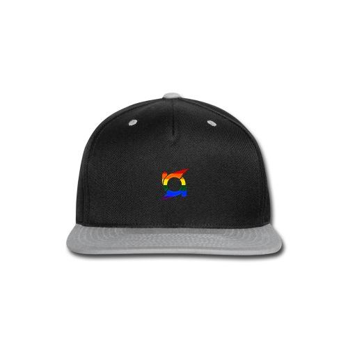 Orbit Rainbow/Pride Logo - Snapback Cap - Snap-back Baseball Cap