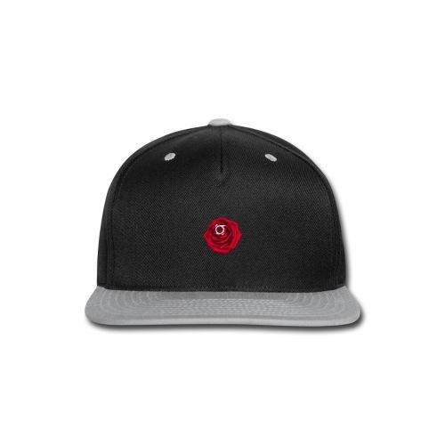 Orbit Rose Logo - Snapback Cap - Snap-back Baseball Cap