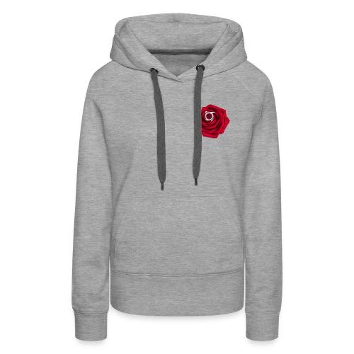 Orbit Rose Logo - Women's Premium Hoodie - Women's Premium Hoodie
