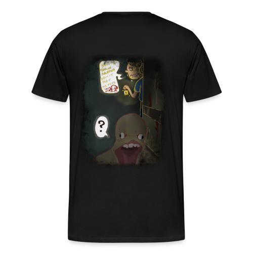 Superejzone Amnesia Halloween Special Men's T-Shirt - Men's Premium T-Shirt