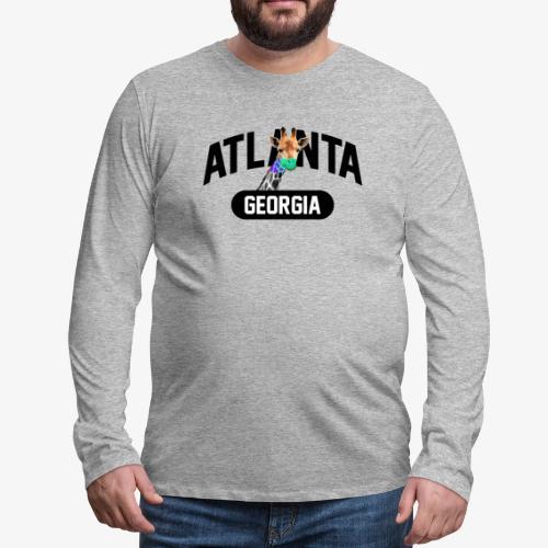 ATLANTA GEORGIA - Men's Premium Long Sleeve T-Shirt