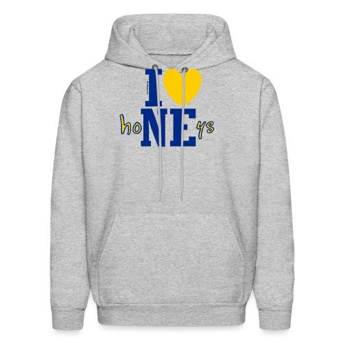 I ❤ Nebraska Honeys - Corn High as Sky - for brighter items - Men's Hoodie
