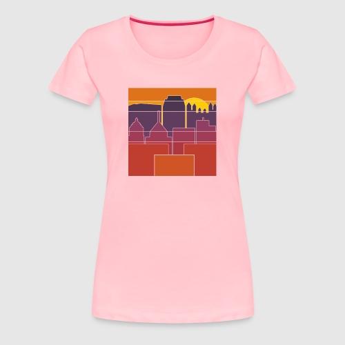 BURGH-BLOCK - Women's Premium T-Shirt