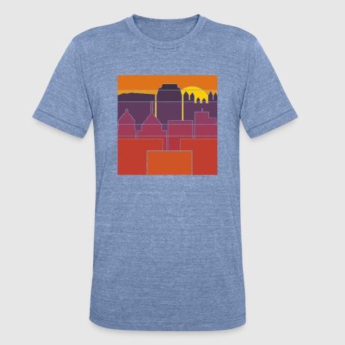 BURGH-BLOCK - Unisex Tri-Blend T-Shirt