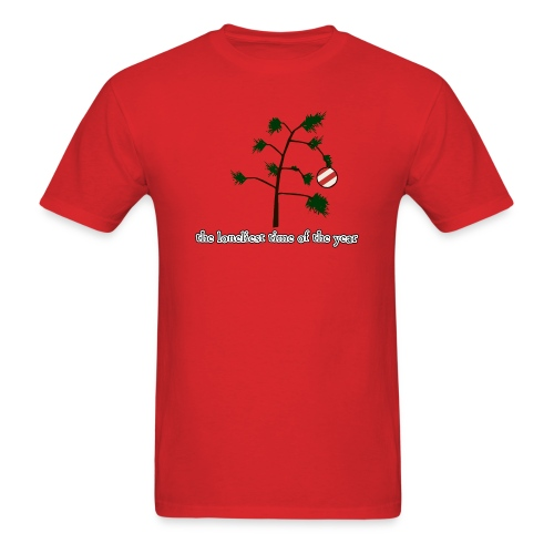 loneliest time of the year - Men's T-Shirt