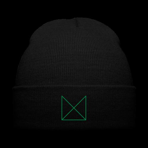 Mi-T Beanie - Knit Cap with Cuff Print