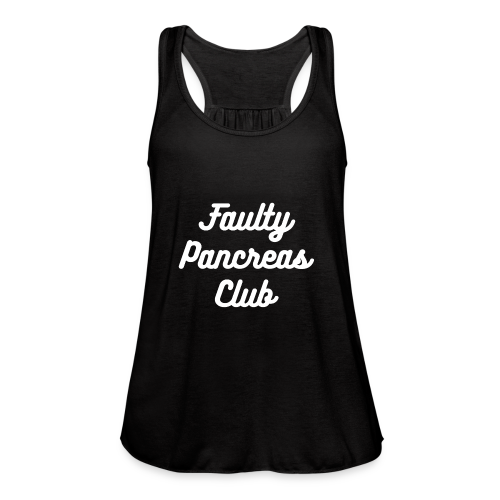 Faulty Pancreas Club - Women's Flowy Tank Top by Bella