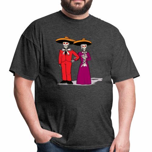 Skeleton Couple - Men's T-Shirt