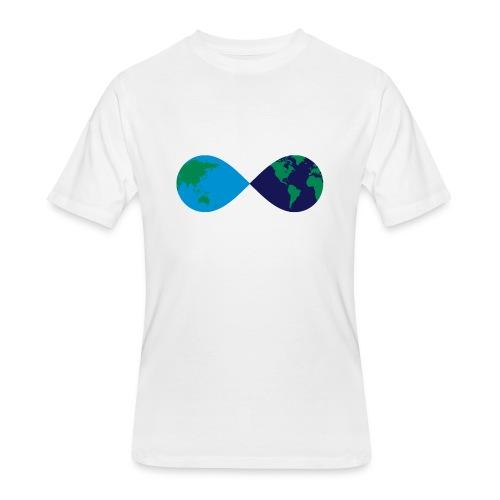 Infinite Earth - Men's 50/50 T-Shirt
