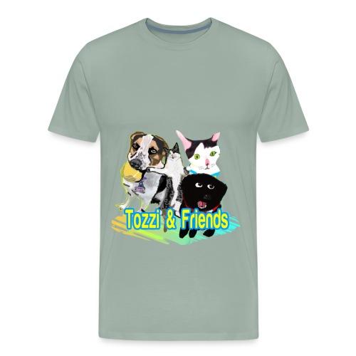 Tozzi & Friends LOGO Men's Shirt - Men's Premium T-Shirt