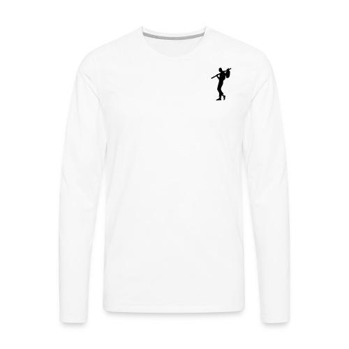 HARDROUTE Long Sleeve T Shirt - Men's Premium Long Sleeve T-Shirt