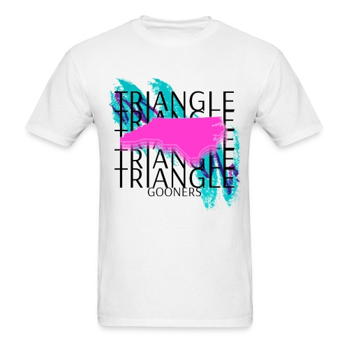 Triangle Gooners in Dixie - Men's T-Shirt