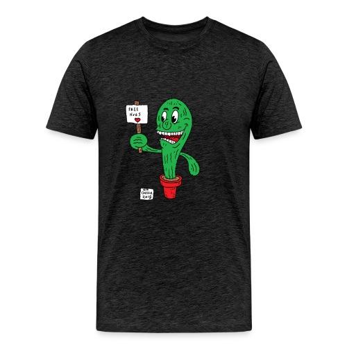 cactus hug - Men's Premium T-Shirt