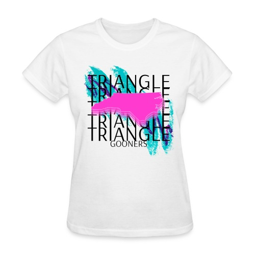 Triangle Gooners in Dixie - Women's T-Shirt