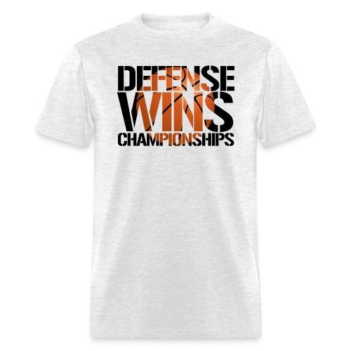 Defense Wins Championships Basketball - Men's T-Shirt