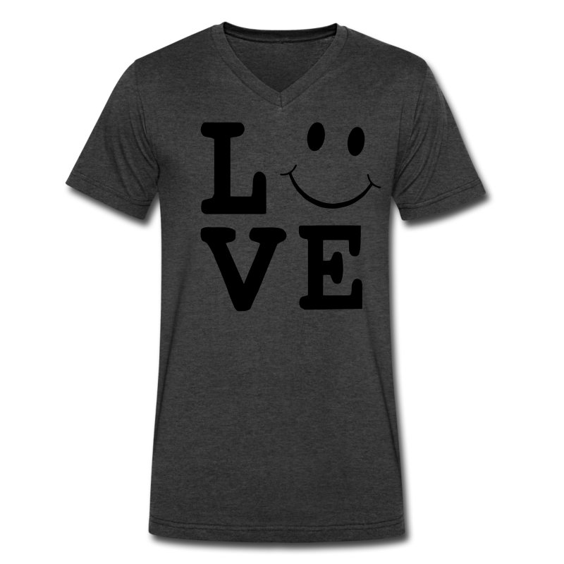 love smiley face t shirt spreadshirt. Black Bedroom Furniture Sets. Home Design Ideas