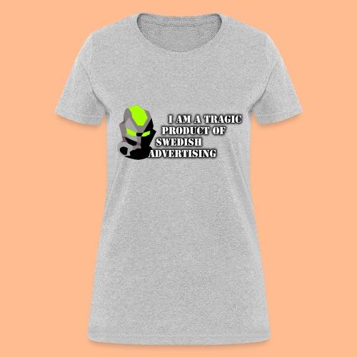 Tragic Swede Woman's Tee - Women's T-Shirt