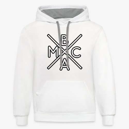 The BMAC Hoodie (White Contrast Edition) - Contrast Hoodie