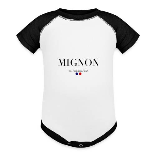 Baby mignon - Contrast Baby Bodysuit