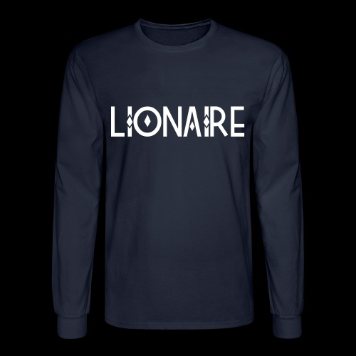 DEFINITION OF LIONAIRE - Men's Long Sleeve T-Shirt
