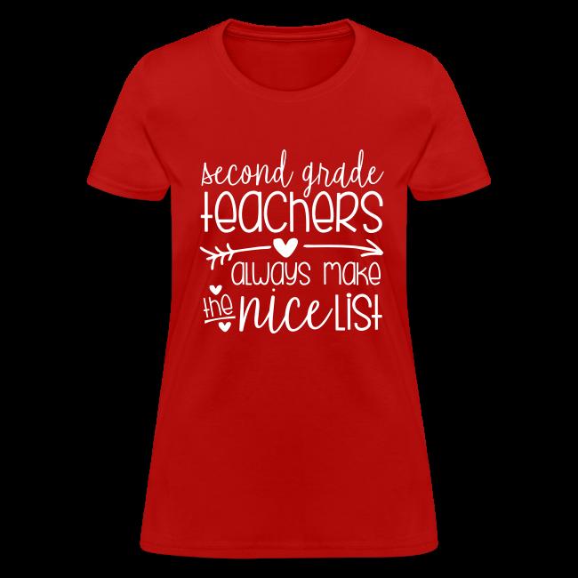 Second Grade Teachers Always Make the Nice List