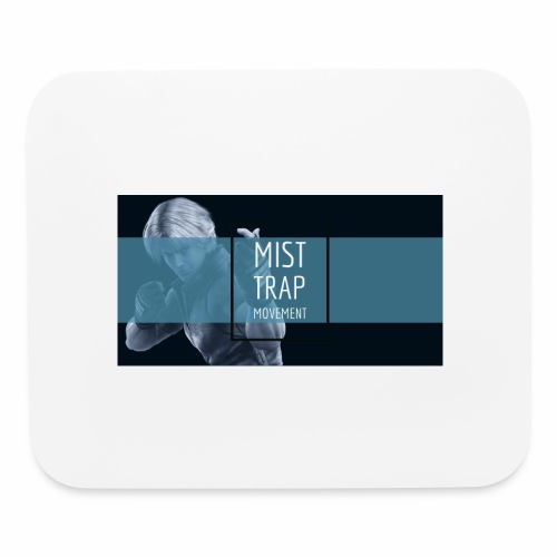 Mist Trap Movement Mouse Pad - Mouse pad Horizontal