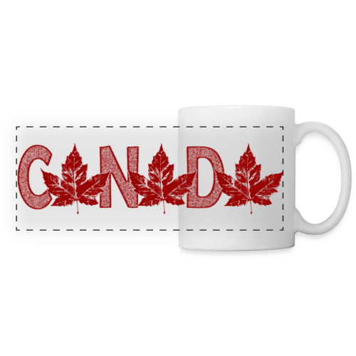 Canada Souvenir Cups Cool Canada Maple Leaf Mugs  - Panoramic Mug