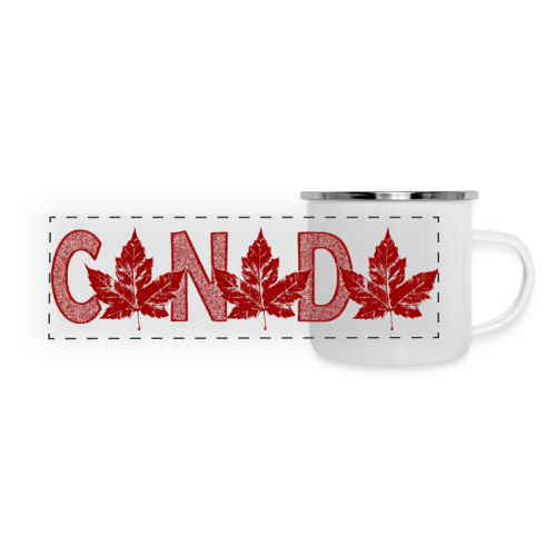 Canada Souvenir Cups Cool Canada Maple Leaf Mugs  - Panoramic Camper Mug