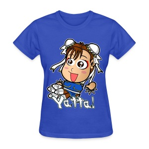 Chibi Chun-Li Yatta Shirt (Female) - Women's T-Shirt