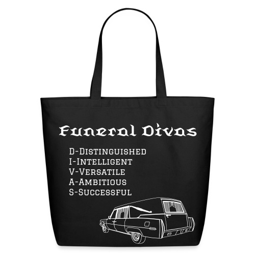 FDs meaning with hearse - Eco-Friendly Cotton Tote