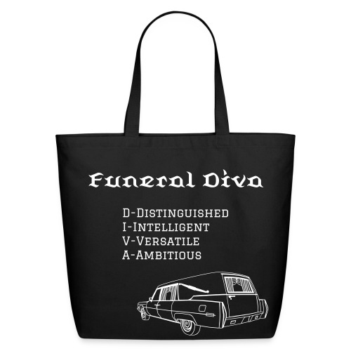 FD meaning with hearse - Eco-Friendly Cotton Tote