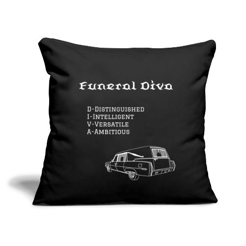 FD meaning with hearse - Throw Pillow Cover