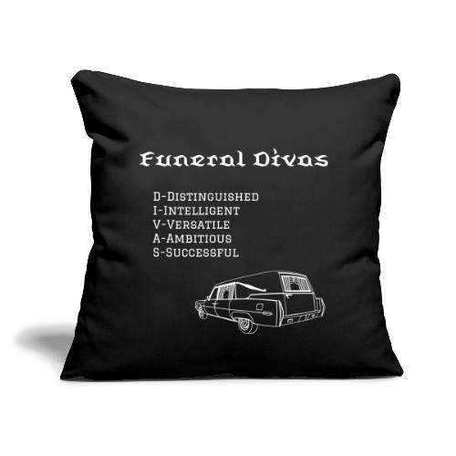 FDs meaning with hearse - Throw Pillow Cover