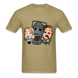 Chibi Doctor Who - Cyberman Shirt (Male) - Men's T-Shirt