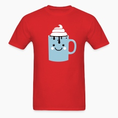 i heart hot chocolate winter holiday love t-shirts T-Shirts