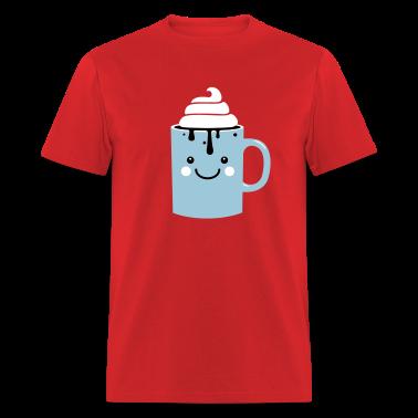 i heart hot chocolate winter holiday love t-shirts T-Shirts