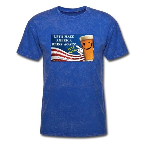 Let's Make America Drink Again! Men's T-Shirt - Men's T-Shirt